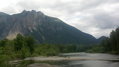 Mount Si seen from Three Forks Photo