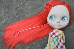 Red Red Red (Lawdeda ) Tags: morning fun outside this with bokeh thing some first and pippi blythe custom zig lots zag rbl spamspamspam spamming rerooted