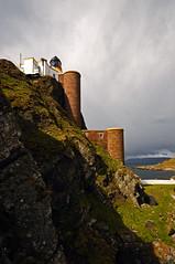 Sanda Lighthouse, (off the coast of Kintyre) (iancowe) Tags: cliff lighthouse rock alan island scotland clyde stair ship arch scottish stevenson staircase sanda kintyre northernlighthouseboard nlb lighthousetrek wbnawgbsct