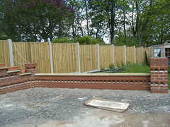 S.W wall finished (Alex and Andy Main) Tags: home alex andy project living shropshire outdoor telford patio andymainphotography
