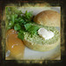Green bread roll - Vogelmiere/chickweed