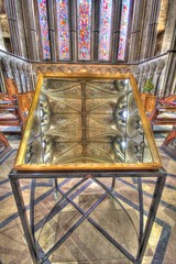 Reflections in the mirror at Worcester cathedral. (darren500D) Tags: flickrstruereflection1 flickrstruereflection2