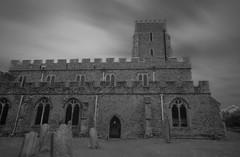 St Nicholas at Wade church (mussy5) Tags: longexposure sky blackandwhite church clouds kent graves infrared canonefs1022mmf3545usm stnicholasatwade canon550d smusgrove2012