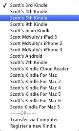 Too many Kindles