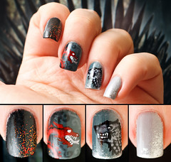 Desafio das 31 Unhas  Unha 24 - Inspirada por um Livro  Game Of Thrones (Chantal Wagner) Tags: black book brush cinza dire dragao dragon esmalte fantasia gameofthrones georgerrmartin gray livro lobo manicure manucure nail nailart ongle phantasy pincel polish preto red songoficeandfire unha varnish vermelho vernis wolf680revloncanonef50mm18iienamelesmaltemanicuremanucurenailpolishredunhavarnishvernis