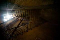 A walk into the castle. (sam_88) Tags: windows light castle silhouette stairs nikon doors sigma 1224 d700 castellodicusago