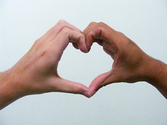 We Wear Our Hearts on Our Sleeves (osvaldoeaf) Tags: people white black love hands heart