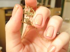 Esponjado dourado (Brendaaa!) Tags: glitter nude dourado impala esponjado