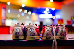 day 237 - bokehshoes (AlexTurton) Tags: blur color colour 30 canon birmingham shoes bokeh sigma bowling 7d 365 30mm sigma30mm14 project365 canon7d
