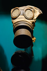 "Gas Mask, WWI • <a style=""font-size:0.8em;"" href=""http://www.flickr.com/photos/82709626@N00/7230295930/"" target=""_blank"">View on Flickr</a>"