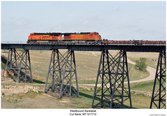 BNSF 4570 & 7588 (Robert W. Thomson) Tags: railroad train montana diesel railway trains locomotive trainengine ge bnsf dash944cw burlingtonnorthernsantafe cutbank dash9 es44dc gevo c449w es44 evolutionseries sixaxle