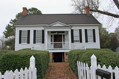 Sheppard Cottage, 1837 (Black.Doll) Tags: alabama cottage antebellum 1837 eufaula nationalregisterofhistoricplaces barbourcounty
