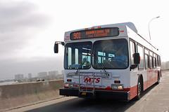 MTS Bus (So Cal Metro) Tags: bus sandiego metro transit coronado mts coronadobridge sandiegobay 2800 sandiegotransit newflyer c40lf rt901 bus2825