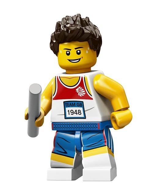 LEGO將販售編號8909 英國限定奧運人偶包