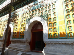 """Sea of Wisdom Temple"" / (Zhihui Hai) (sftrajan) Tags: china green yellow architecture temple beijing unescoworldheritagesite unesco summerpalace unescoworldheritage peking buddhas glazed qingdynasty   tibetanbuddhism  unescowelterbe patrimoniomundial palaisdt imperialchina  patrimoinemondial neuersommerpalast seaofwisdomtemple  zhuhuihai"