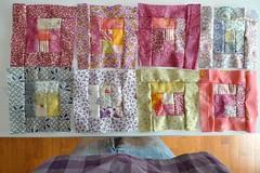 : : & me (Mi Mitrika) Tags: quilt eu quadrados aprendercomoserros tecidosdaretrosariaenos