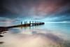 Quindalup serenity (Luke Tscharke) Tags: longexposure colour sunrise geotagged jetty lee wa westernaustralia peir boatramp quindalup heliopan 5dmkiii 5d3 5dmarkiii ☆thepowerofnow☆ geo:lat=3363156079695959 geo:lon=11514901412062386