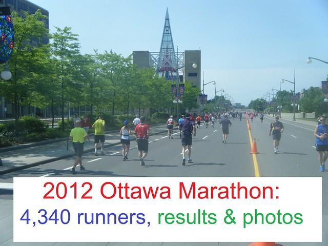 2012 Ottawa Marathon: Results, Photos
