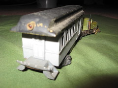 Ulrich Kenworth Inspection Truck w/ Scratchbuilt Powered Brass Trailer (a69mustang4me) Tags: scale truck vintage trucks ho ulrich peterbuilt diecast modelrailroading cabover
