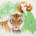 "Redhead with a Tiger • <a style=""font-size:0.8em;"" href=""http://www.flickr.com/photos/62692398@N08/7296981436/"" target=""_blank"">View on Flickr</a>"