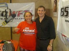 Joyce Kaufman Endorses Joe Kaufman