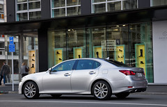 Lexus GS250 in Silver - rear by shoe shop