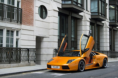 The First of Many. (Alex Penfold) Tags: auto park camera orange london cars alex sports up car sport mobile canon photography eos photo cool flickr doors image awesome flash picture super spot hyde exotic add photograph lane atlas spotted hyper mayfair lamborghini arancio supercar spotting exotica sportscar 2012 sportscars supercars murcielago v12 lambo penfold spotter murci hypercar 60d hypercars alexpenfold v12dd