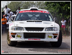 20120609_55.jpg (nichian) Tags: sports car rally drivers rallying subaruimprezawrc rb12 rogerduckworth rallybarbados2012