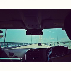 road trip :) (.  .) Tags: car phonecam square saturday roadtrip squareformat amaro iphoneography instagramapp uploaded:by=instagram iphone4s
