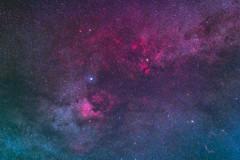 in the heart of Cygnus (dtsortanidis) Tags: summer sky 20d canon lens stars 50mm star mod veil space greece galaxy nebula astrophotography modified astronomy 40 18 universe constellation iso1600 dimitris milkyway deneb cygnus dimitrios widefield northamericanebula butterflynebula astrotrac Astrometrydotnet:status=solved Astrometrydotnet:version=14400 tsortanidis Astrometrydotnet:id=alpha20120688311995