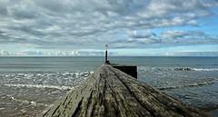 Due South. Dorset Coast. (hoxtonboy) Tags: sea sky beach dorset bst duesouth cumulushumilis fairweatherclouds cuhum