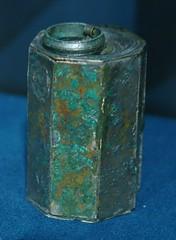 Tinter, Museo Archeologico Nazionale, Npols (Sebasti Giralt) Tags: bronze writing roman romano inkwell bronce escritura rom escriptura inkstand tinter atramentarium