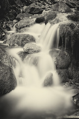 Silver Waterfall. (Lixposure) Tags: nature water photography waterfall wasser long exposure little small natur smooth foggy kleiner silky lange weich neblig belichtungszeit aussehend lixposure