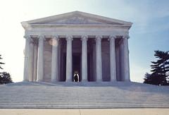 Jefferson Memorial Washington DC 1977 Scanned Image_2 (smata2) Tags: monument canon washingtondc photo dc memorial scanned ektachrome jeffersonmemorial nationscapital minoltascandualiv