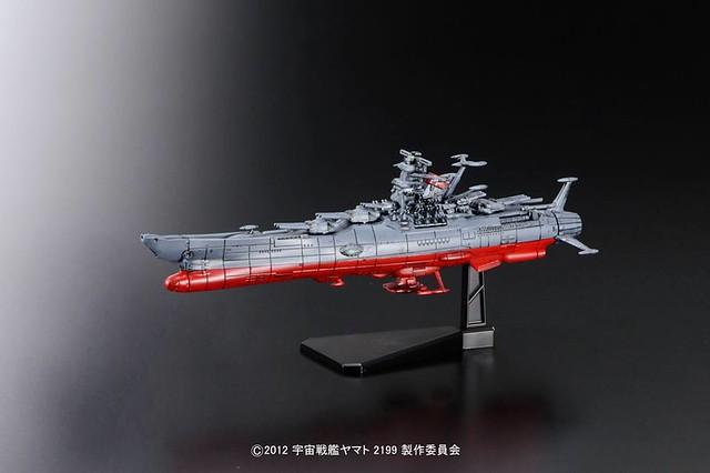 宇宙戰艦大和號2199 縮小比例模型