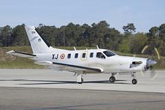 104_TBM700_FrenchAF_MontDeMarsan (Tony Osborne - Rotorfocus) Tags: france french force air turboprop 2014 daher montdemarsan tbm700 socata