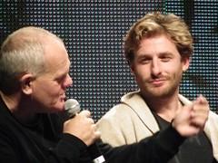 Mark Hadlow & Dean O'Gorman (KiwiHugger) Tags: lordoftherings peterjackson calgarycomicexpo deanogorman markhadlow hobbitmovies