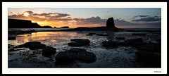 Saltwick Bay - May 2016 (0Hammer64) Tags: sunset twilight nikon northsea whitby whale coastline lowtide northeast f4 northyorkshire d800 1635mm saltwickbay saltwick blacknab nikond800 0hammer64