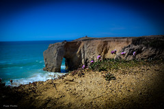 DSC_0141 (FlipperOo) Tags: voyage sea mer france color st rock port de nikon pierre vagues plage morbihan blanc roche arche quiberon instagramapp