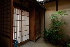 Murasaki entrance hall - 2 (Bernard Languillier) Tags: japan kyoto gion  d810 ryokanmurasaki