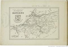 Fasc. 64. b. Basses Pyrnes, arrondissement de Bayonne (Library ABB 2013) Tags: france album bnf franais nationallibraryoffrance bibliothquenationaledefrance 1890