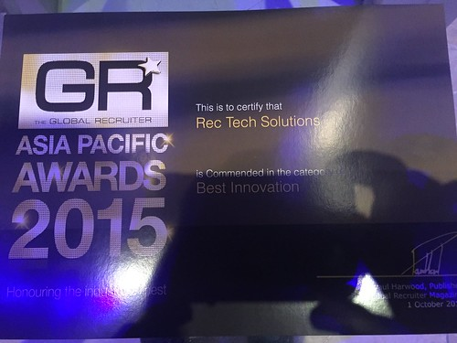 "Rec Tech Solutions - Best Innovation category Winner • <a style=""font-size:0.8em;"" href=""http://www.flickr.com/photos/143435186@N07/26672541844/"" target=""_blank"">View on Flickr</a>"