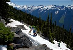 Sulphur Mountain 1 (@GilAegerter / klahini.com) Tags: snow mountains nikon hiking trails climbing nikkor 1855mmf3556g northcascades sulphurmountain glacierpeak 1855mmf3556gvr