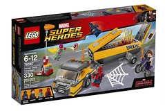 New Civil War Lego Set!!! (Luigi Fan) Tags: set america comics war lego spiderman vision civil captain hawkeye marvel