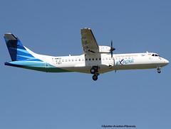 Garuda Indonesia Explore. (Jacques PANAS) Tags: canon indonesia explore garuda atr 72212a fwwed 72600 eos70d pkgan msn1321