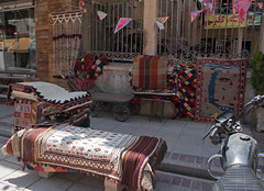 HFF (=Mirjam=) Tags: city travel holiday shop fence persian travels iran culture her shiraz iranian traveling mei bazaar tradition carpets 2016 hff seeingtheworld fencefriday nikond750