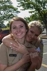 Best Buddies (Mellon 99) Tags: girls girl navy jess seahawks delaware dma academics seahawk jrotc jessicamellon delawaremilitaryacademy seahawknation mellon99photography davemellon seahawkpride