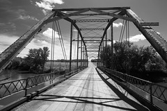 _DSC1010 Renville  and Redwood Counties, Minnesota USA (POV Heartland) Tags: county bridge bw minnesota architecture zeiss rural river sony country e fe carlzeiss a7ii loxia renville sonyalpha a7m2 minnesotariverscenicbyway loxia2821 loxiaf2821 loxiaf2821mm