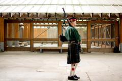 136 / 366 - Breathe Deep (Pamela Saunders) Tags: music man vancouver scottish scot piper granvilleisland bagpipe 366 366project