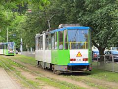 Tatra KT4DtM, #130, Tramwaje Szczeciskie (transport131) Tags: tram tramwaj tsz tramwaje szczeciskie szczecin zdzit tatra kt4dtm